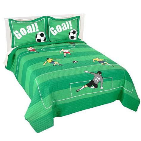 Soccer Bed Set 17 Best Images About Sports Bedding For Boys On Sport Quotes Quilt Sets And