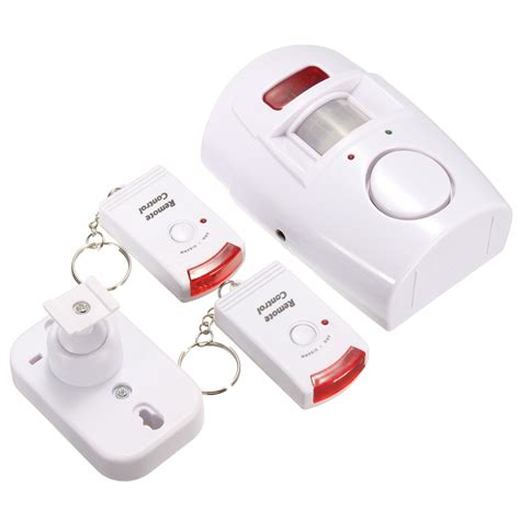 remote wireless chime motion sensor security alarm