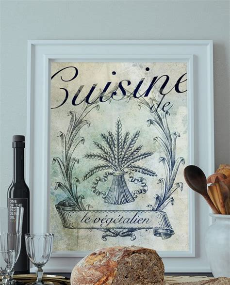 vegan home decor vegan home decor french vegan kitchen decor art rustic