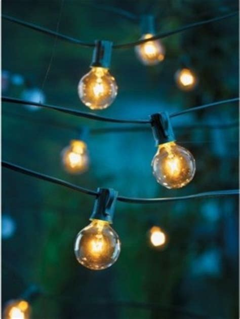 Room Essentials Clear Globe Lights Contemporary Target Bulb String Lights