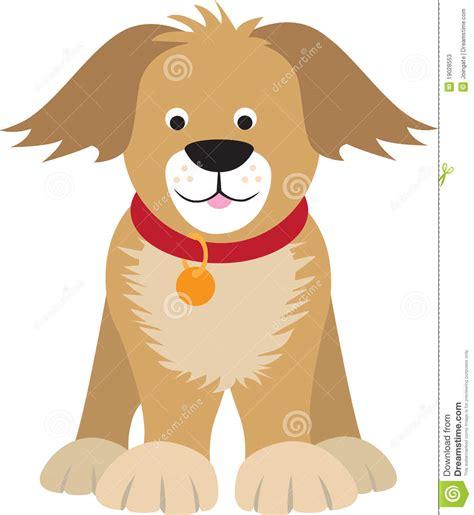 Cartoon Dog Illustration Stock Photos   Image: 19028553