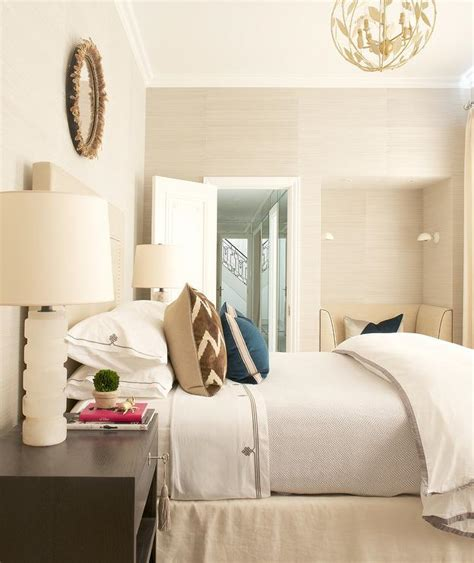 cream and brown bedroom cream and brown bedroom with reading nook transitional