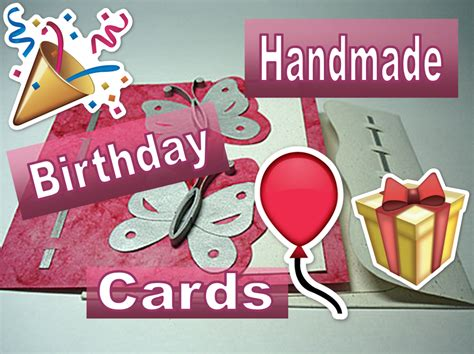 Happy Birthday Handmade Card Designs