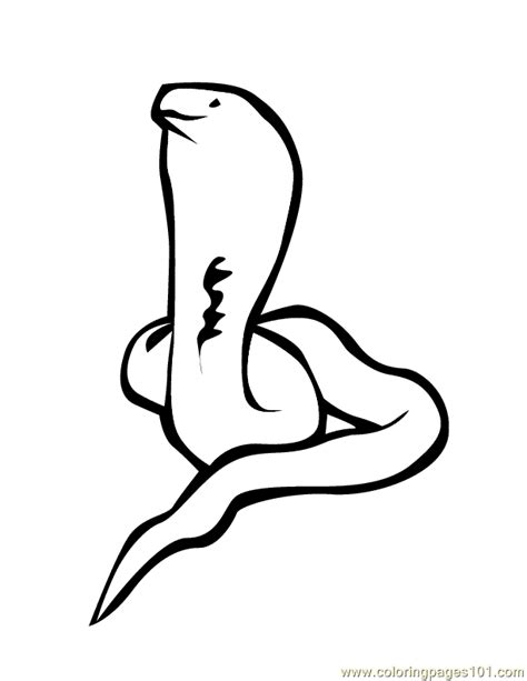 free coloring pages of king cobra