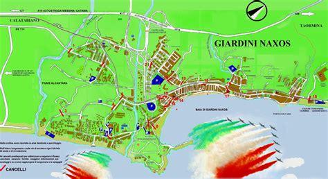 mappa giardini naxos frecce tricolori in esclusiva a giardini naxos