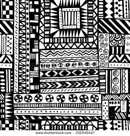 tribal pattern types seamless tribal texture stock vector 156463841 shutterstock
