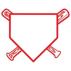 home plate baseball home plate stencils home in