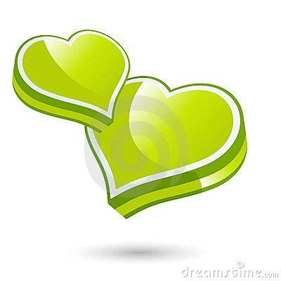 imagenes verdes de amor corazones verdes del amor fotos de archivo imagen 18662053