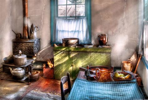 Old Fashioned Home Decor Kitchen Old Fashioned Kitchen Photograph By Mike Savad