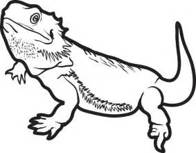 lizard coloring pages free printable lizard coloring page for 5