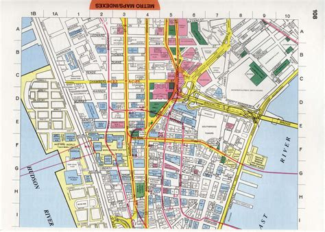 district map of nyc new york financial district