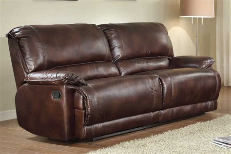 double recliner couch homelegance elsie double reclining sofa in dark brown 9713pm 3