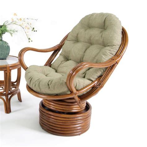 Rattan Swivel Rocker Replacement Cushion   Furniture Ideas