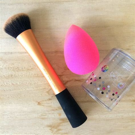 New Busa Make Up Blender Make Up Brush how to use makeup to hide cheeks