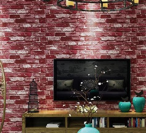 faux brick wallpaper dime and a prayer online get cheap stack stone aliexpress com alibaba group