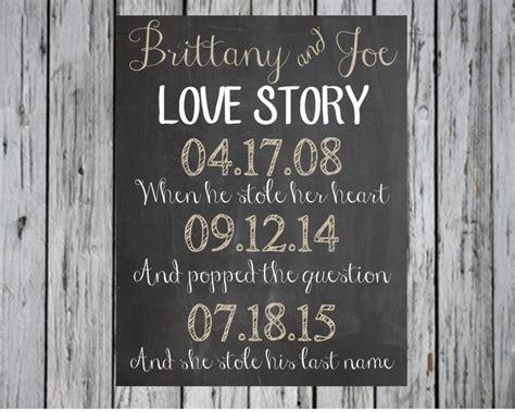 Wedding Invitation Story They Met