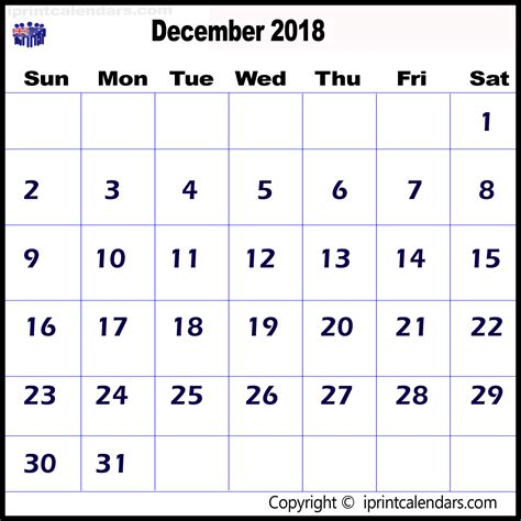 Kalender 2018 Print December Calendar 2018 Print Australia Templates Tools
