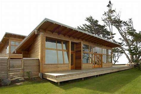 desain rumah kayu sederhana minimalis idea rumah idaman