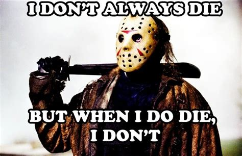 Horror Memes - jason voorhees horrific humor pinterest jason voorhees