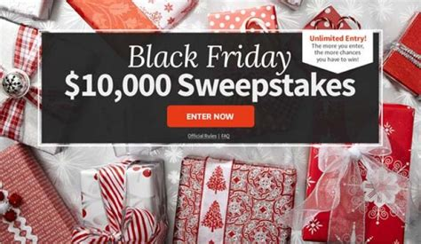Black Friday Sweepstakes - bhg com blackfridaysweeps 10 000 sweepstakes sweepstakes pit