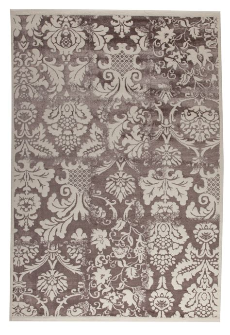 Brown And White Area Rug Mat Mat Orange Baroque Antique White Brown Area Rug Clearance 66836