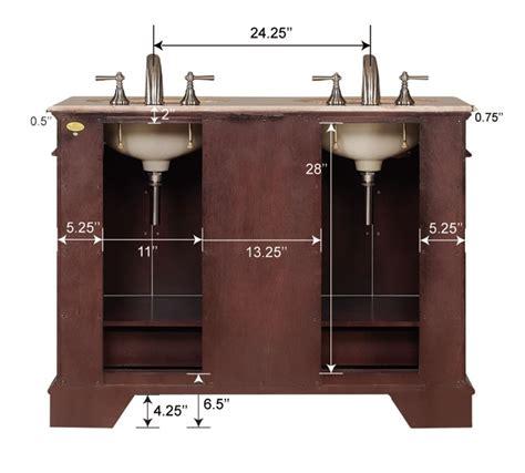 Bathroom Vanity Plumbing 48inch Erika Vanity Space Saving Vanity Sink Vanity