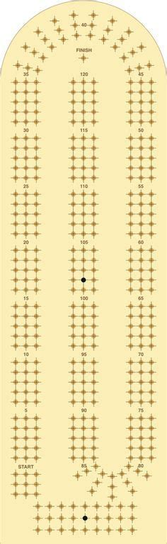 printable paper cribbage board free crib board template woodworking projects plans