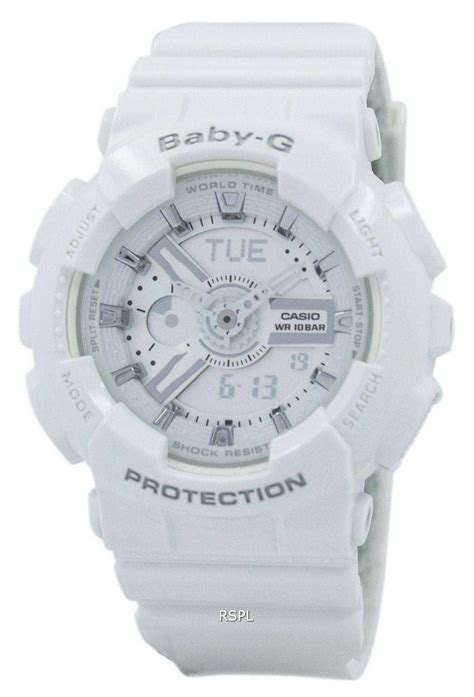 casio baby g casio baby g analog digital ba 110 7a3 womens