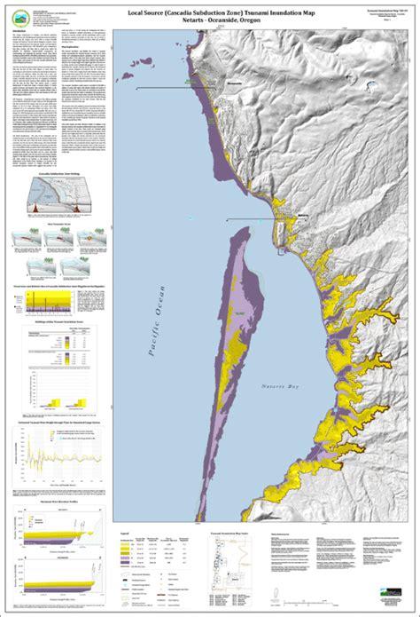 map of oceanside oregon dogami tim till 09 tsunami inundation maps for netarts