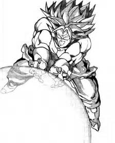 broly by kdiego on deviantart