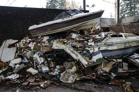 old boat trailer disposal this is where all those abandoned rvs and trailers go to