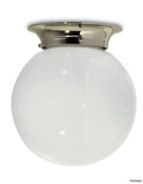 lefroy classic flush globe light bathroom ceiling