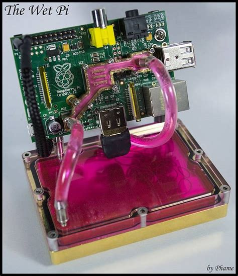 Paket Raspberry Pi 3 Made In Uk Casing Power Supply Dan Micro Sd don t bake your raspberry pi now you can water cool it