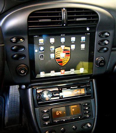 Image 2013 Porsche Boxster Interior Ipad Mini In Dash Install 996 Mkii 6speedonline