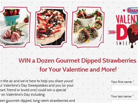Valentine Sweepstakes - california giant berry farms valentine s day sweepstakes