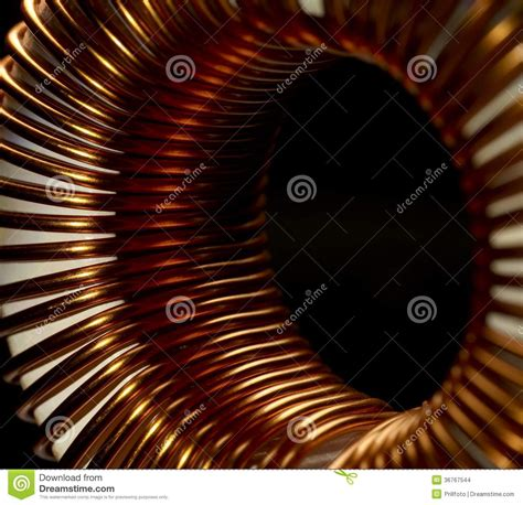 inductor in detail inductor detail stock images image 36767544