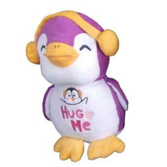Kapas Silikon Dakron 1 putri boneka pinguin ungu lazada indonesia