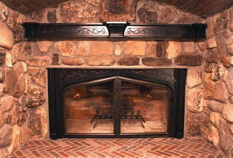 handmade custom fireplace screens  iron mountain anvil custommadecom