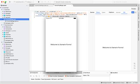 xamarin studio code templates getting started with c and cross platform net on a mac