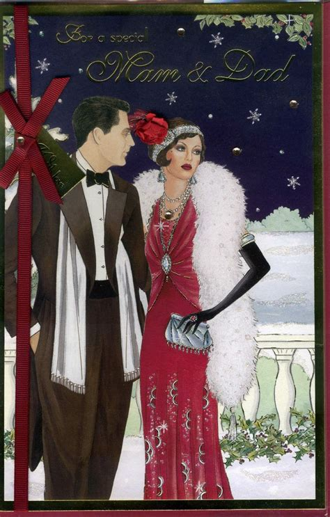 art deco lady l mam dad art deco lady jewelled jpg 1020 215 1600 xmas