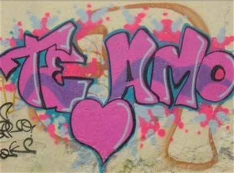 imagenes que digan te amo angelica graffiti de te quiero www pixshark com images