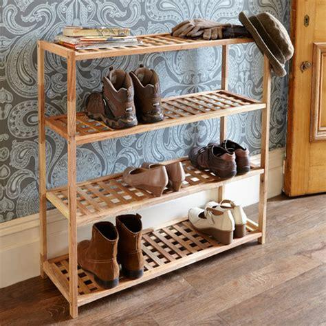 tier walnut wooden shoe rack store shoe racks