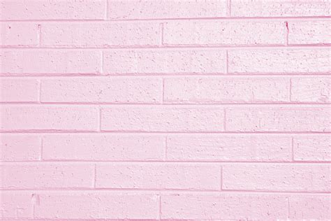 pink wallpaper for walls pink painted brick wall texture picture free photograph