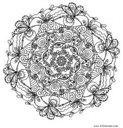 Coloring Pages For Adults Mandala mindful mandalas juste etre just be