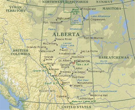 Alberta Canada Search Map Of Alberta Canada Search Maps Alberta Canada