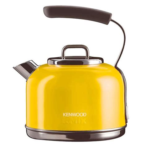 Kitchen Interior Designer Kenwood Kmix Brights Traditional Kettle Yellow Pretty