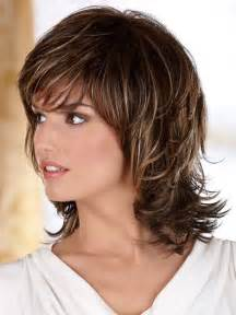 below shoulder simple layered hair style 25 best ideas about medium shag haircuts on pinterest