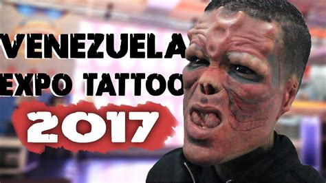 expo tattoo en venezuela venezuela expo tattoo 2017 diego mendoza youtube