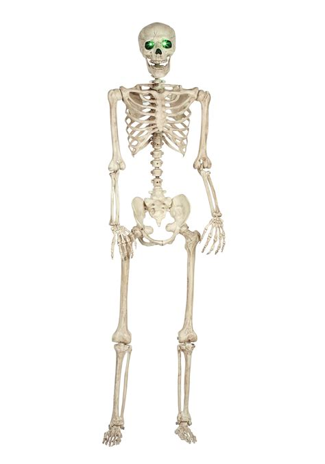 a skeleton pose n stay light up skeleton