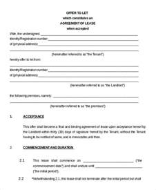 warehouse lease agreement template commercial property lease agreement commercial lease